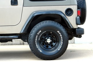 2003 Jeep Wrangler Sport Lifted 4WD Plano, TX 17