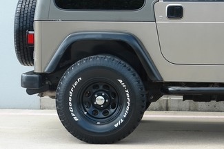 2003 Jeep Wrangler Sport Lifted 4WD Plano, TX 20