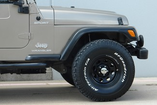 2003 Jeep Wrangler Sport Lifted 4WD Plano, TX 21