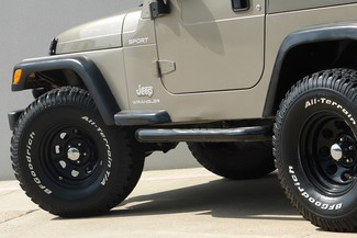 2003 Jeep Wrangler Sport Lifted 4WD Plano, TX 25