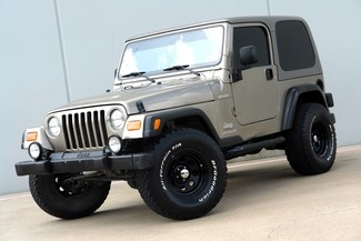 2003 Jeep Wrangler Sport Lifted 4WD Plano, TX 1