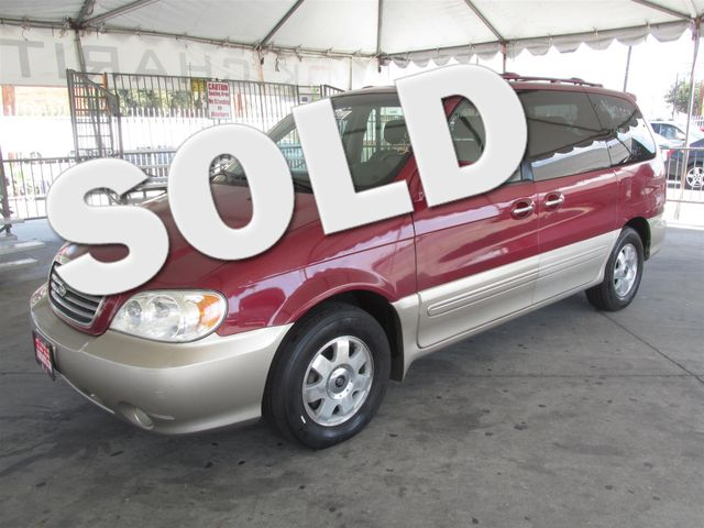 2003 Kia Sedona EX This particular Vehicle comes with 3rd Row Seat Please call or e-mail to check