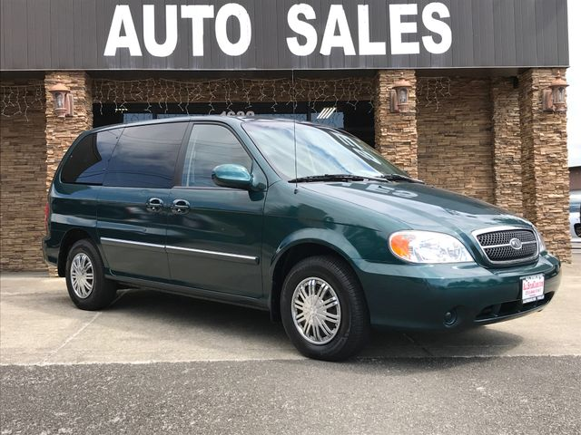 2003 Kia Sedona LX The CARFAX Buy Back Guarantee that comes with this vehicle means that you can b