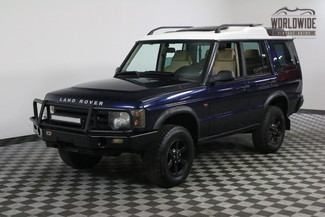 2003 Land Rover DISCOVERY V8 LIFTED CLEAN CARFAX WINCH BUMPER in Denver, Colorado