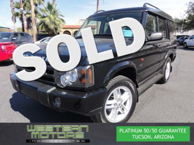 This 2003 Land Rover Discovery SE-7 is a Western Motors Featured Car