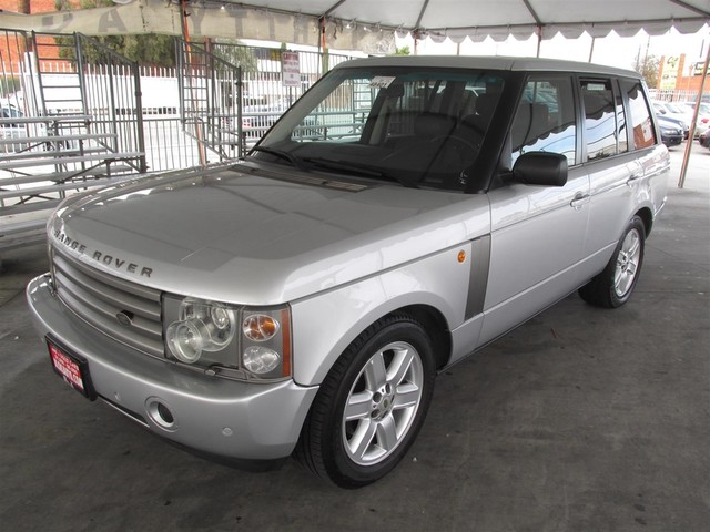 2003 Land Rover Range Rover HSE Please call or e-mail to check availability All of our vehicles