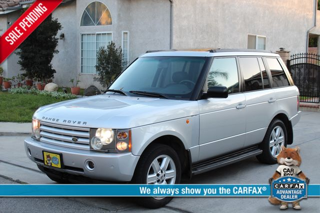 2003 Land Rover RANGE ROVER LUXURY HSE NAVIGATION ALLOY WHLS SERVICE RECORDS! Woodland Hills, CA 0