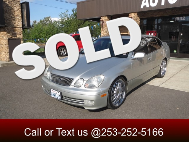 2003 Lexus GS 430 The CARFAX Buy Back Guarantee that comes with this vehicle means that you can bu