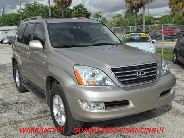 2003 Lexus GX 470 WARRANTY CARFAX CERTIFIED 1 OWNER LOADED  This Lexus GX470 is the perfe