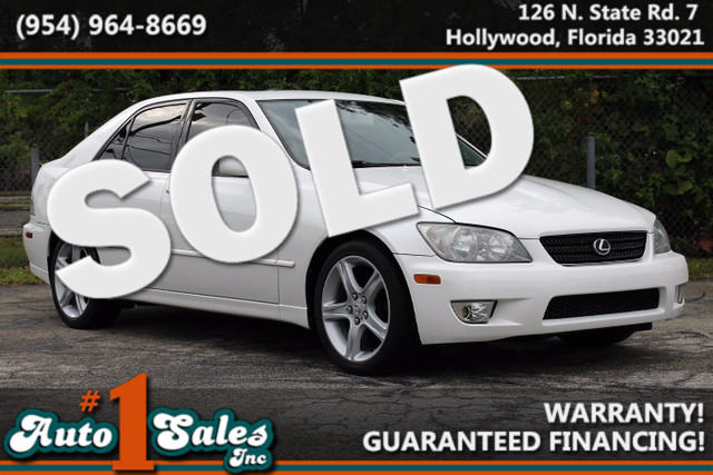2003 Lexus IS 300  WARRANTY CARFAX CERTIFIED AUTOCHECK CERTIFIED 13 SERVICE RECORDS FLORIDA