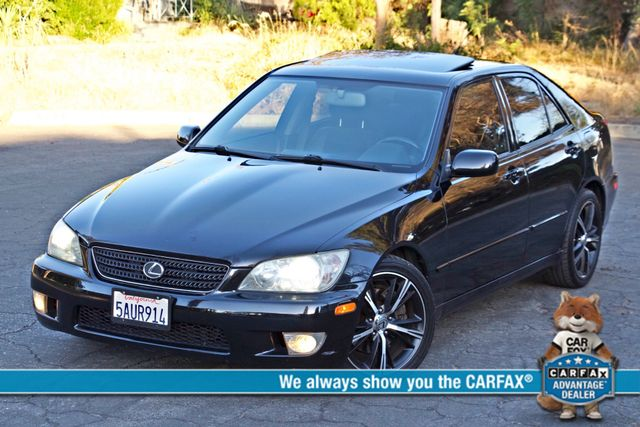 2003 Lexus IS 300 SPORT AUTOMATIC XENON MOONROOF BLUETOOTH 1-OWNER ALLOY WHLS NEW TIRES SERVICE REOCRDS! Woodland Hills, CA 0