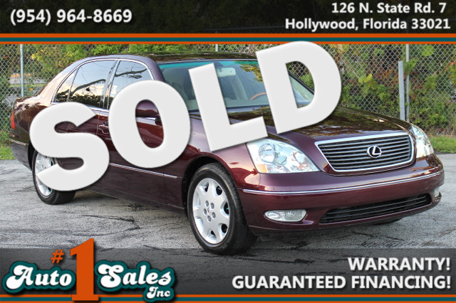 2003 Lexus LS 430  WARRANTY CARFAX CERTIFIED AUTOCHECK CERTIFIED 2 OWNERS 12 SERVICE RECORD