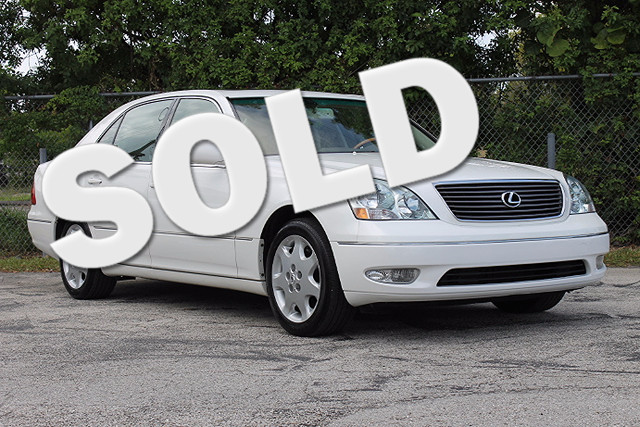 2003 Lexus LS 430  WARRANTY CARFAX CERTIFIED AUTOCHECK CERTIFIED FLORIDA VEHICLE TRADES WEL