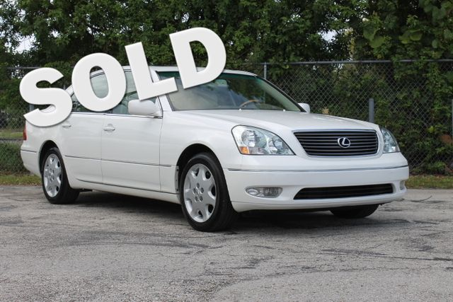 2003 Lexus LS 430  WARRANTY CARFAX CERTIFIED 29 SERVICE RECORDS FLORIDA VEHICLE TRADES WELC