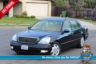 2003 Lexus LS 430 NAVIGATION SUNROOF LEATHER XENON PARKING SENSORS Woodland Hills, CA