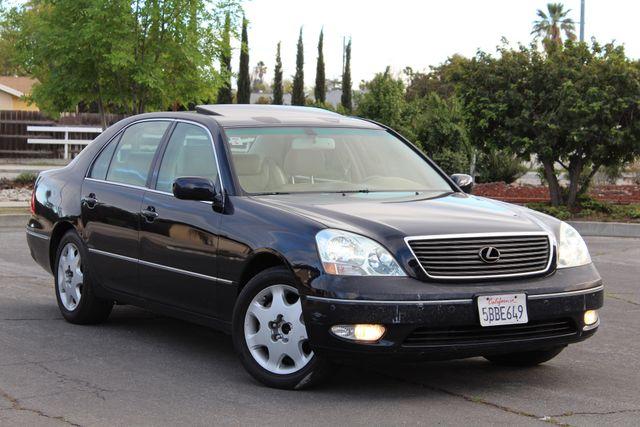 2003 Lexus LS 430 NAVIGATION SUNROOF LEATHER XENON PARKING SENSORS Woodland Hills, CA 8