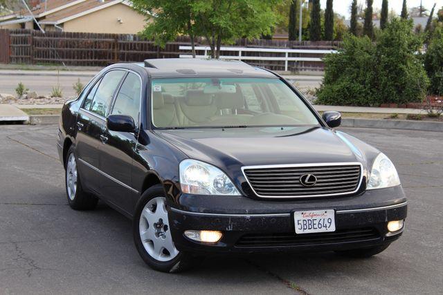 2003 Lexus LS 430 NAVIGATION SUNROOF LEATHER XENON PARKING SENSORS Woodland Hills, CA 9