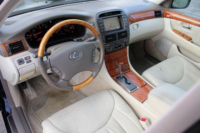 2003 Lexus LS 430 NAVIGATION SUNROOF LEATHER XENON PARKING SENSORS Woodland Hills, CA 13