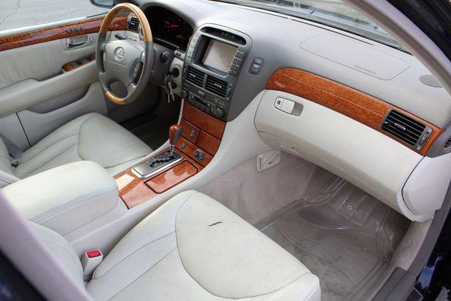 2003 Lexus LS 430 NAVIGATION SUNROOF LEATHER XENON PARKING SENSORS Woodland Hills, CA 24