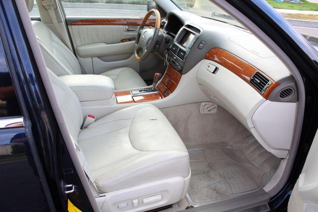 2003 Lexus LS 430 NAVIGATION SUNROOF LEATHER XENON PARKING SENSORS Woodland Hills, CA 25