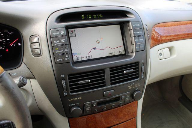 2003 Lexus LS 430 NAVIGATION SUNROOF LEATHER XENON PARKING SENSORS Woodland Hills, CA 16