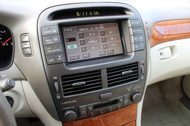 2003 Lexus LS 430 NAVIGATION SUNROOF LEATHER XENON PARKING SENSORS Woodland Hills, CA 17