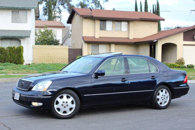 2003 Lexus LS 430 NAVIGATION SUNROOF LEATHER XENON PARKING SENSORS Woodland Hills, CA 1