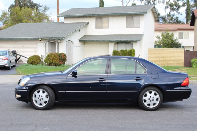 2003 Lexus LS 430 NAVIGATION SUNROOF LEATHER XENON PARKING SENSORS Woodland Hills, CA 32