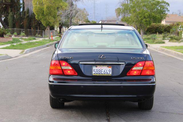 2003 Lexus LS 430 NAVIGATION SUNROOF LEATHER XENON PARKING SENSORS Woodland Hills, CA 4