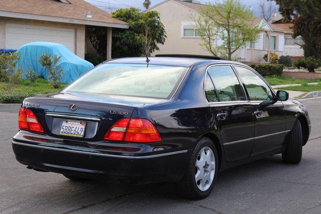 2003 Lexus LS 430 NAVIGATION SUNROOF LEATHER XENON PARKING SENSORS Woodland Hills, CA 5