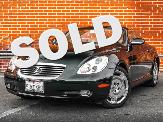 2003 Lexus SC 430 Burbank, CA 0