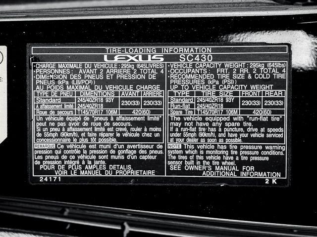 2003 Lexus SC 430 Burbank, CA 28