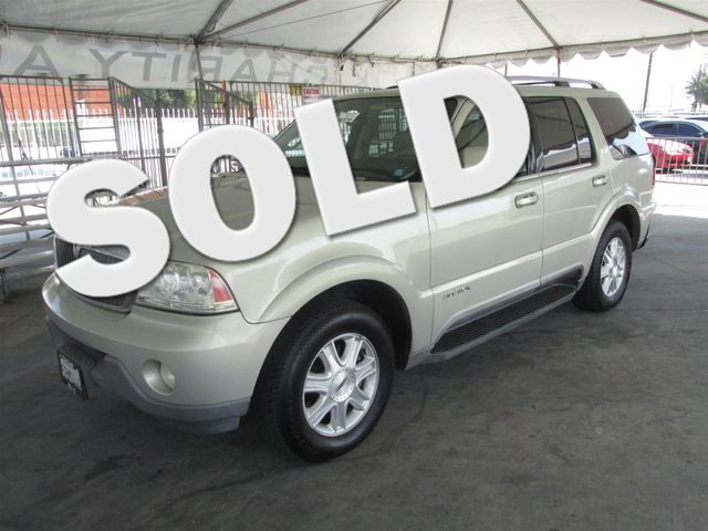 2003 Lincoln Aviator Luxury This particular Vehicle comes with 3rd Row Seat Please call or e-mail