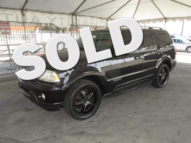 2003 Lincoln Aviator Premium This particular Vehicle comes with 3rd Row Seat Please call or e-mai