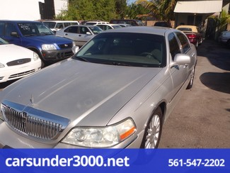 2003 Lincoln Town Car Executive Lake Worth , Florida 1