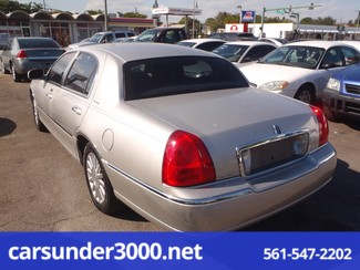 2003 Lincoln Town Car Executive Lake Worth , Florida 2