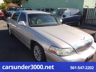 2003 Lincoln Town Car Executive Lake Worth , Florida 4