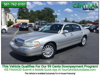 2003 Lincoln TOWN CAR/PW  | Hot Springs, AR | Central Auto Sales in Hot Springs AR