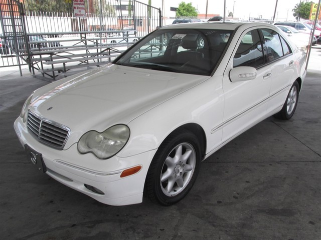 2003 Mercedes C240 26L This particular Vehicles true mileage is unknown TMU Please call or e-