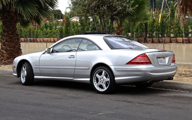 2003 Mercedes-Benz CL600 5.5L Reseda, CA 5