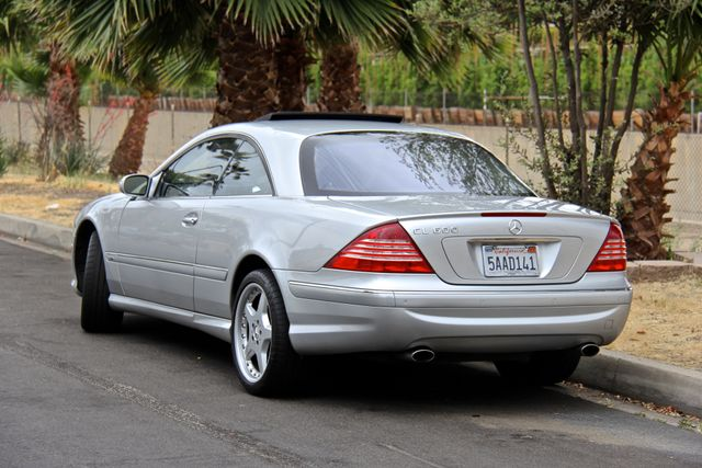 2003 Mercedes-Benz CL600 5.5L Reseda, CA 2