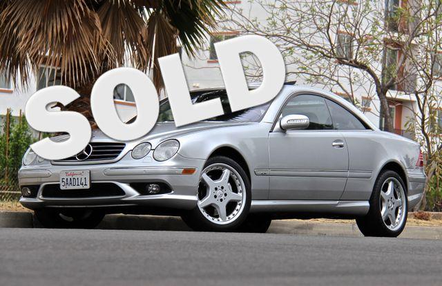 2003 Mercedes-Benz CL600 5.5L Reseda, CA 0