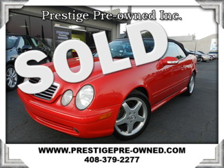 2003 Mercedes-Benz CLK430 in Campbell California