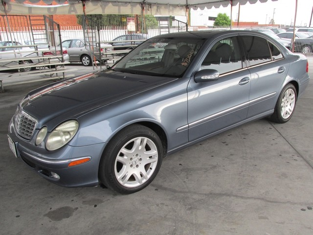 2003 Mercedes E500 50L Please call or e-mail to check availability All of our vehicles are ava