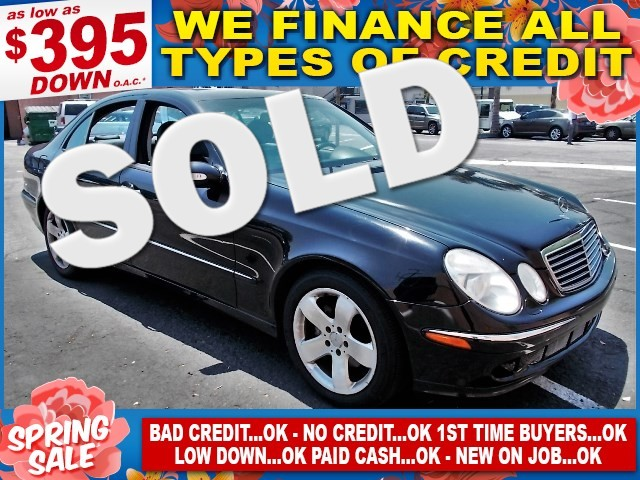 2003 Mercedes E500 50L Limited warranty included to assure your worry-free purchase AutoCheck re