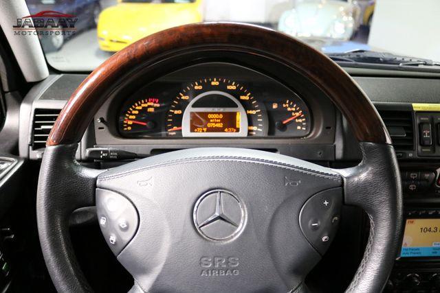 2003 Mercedes-Benz G55 AMG BRABUS Merrillville, Indiana 18