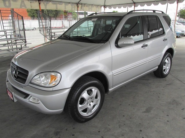 2003 Mercedes ML320 32L Please call or e-mail to check availability All of our vehicles are av