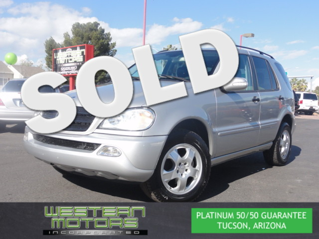 This 2003 Mercedes-Benz ML320 3.2L is a Western Motors Featured Car