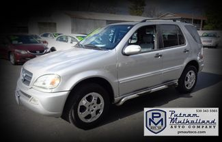 2003 Mercedes Benz ML350 Sport Utility Chico, CA