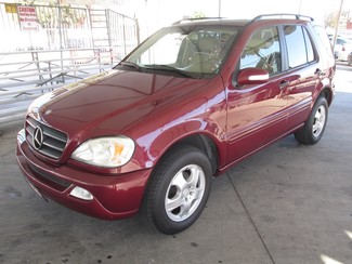 2003 Mercedes-Benz ML350 3.5L Gardena, California